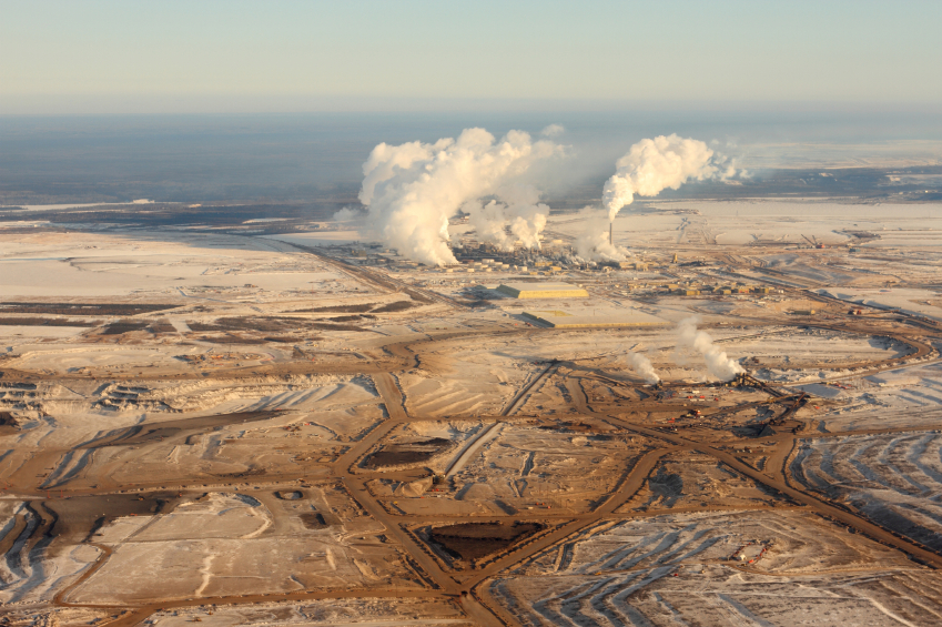 tar sands oil extraction