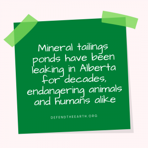 Mineral Tailings Ponds graphic