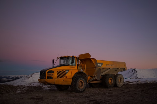 Mining truck, used for oil sands